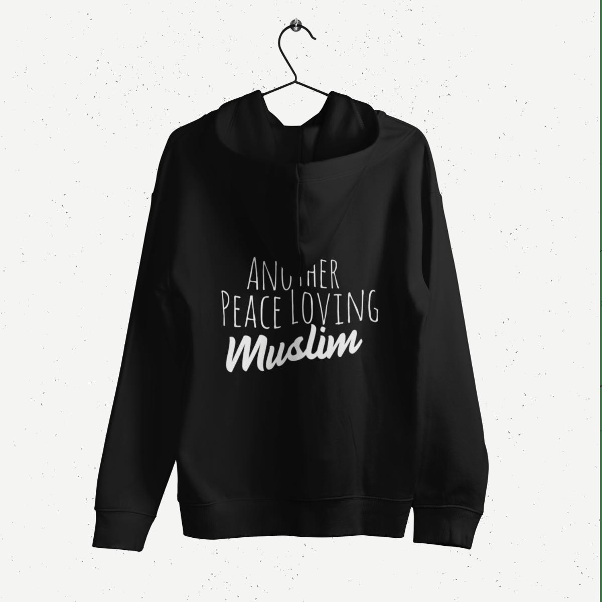 Peace Loving Muslim Female Hoodie