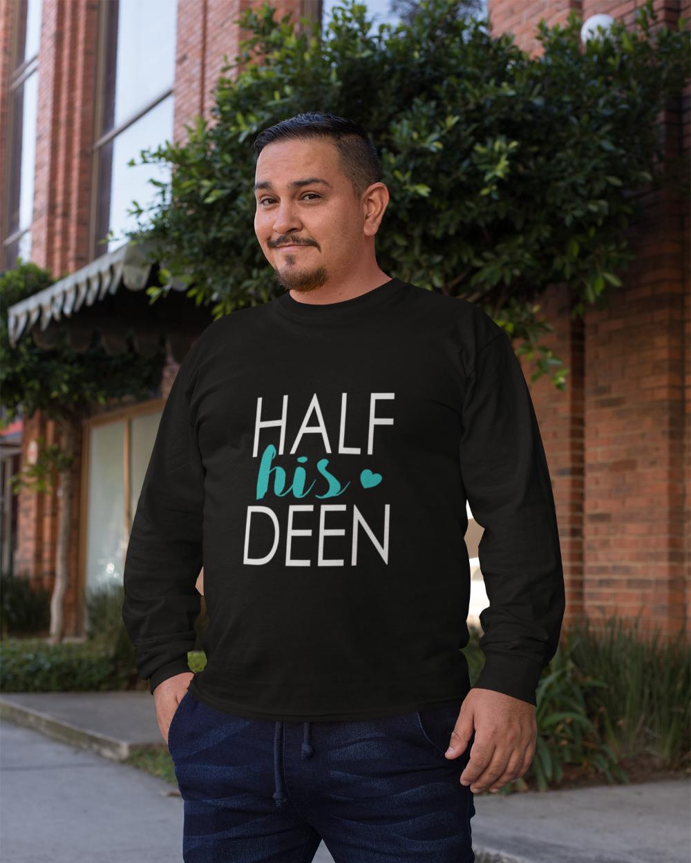 half his deen